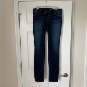 Red Engine Cinder Straight-Leg Jeans Size 30